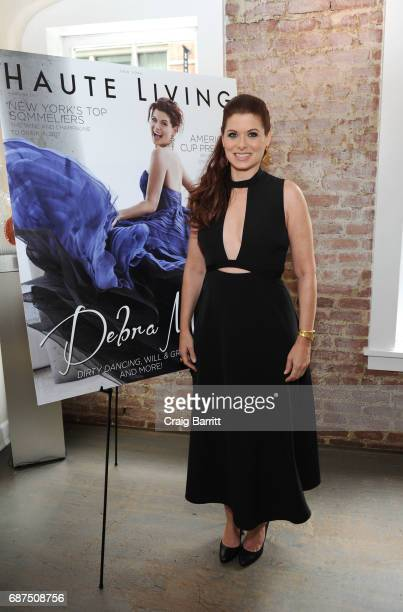 Debra Messing attends Haute Living celebration of Debra Messing with Bertaud Belieu Rose at MAMO on May 23 2017 in New York City