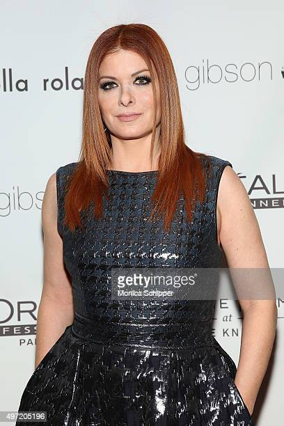 Debra Messing attends Ted Gibson's 50th Birthday Party on November 14 2015 in New York City