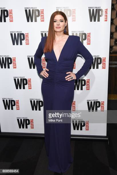 Debra Messing attends the 32nd Annual WP Theater's Women of Achievement Awards Gala at The Edison Ballroom on March 27 2017 in New York City