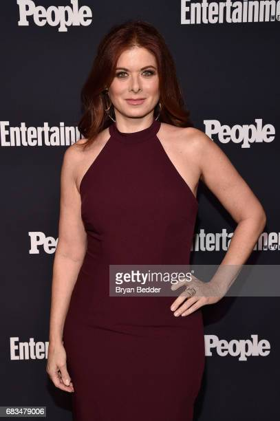 Debra Messing attends the Entertainment Weekly and PEOPLE Upfronts party presented by Netflix and Terra Chips at Second Floor on May 15 2017 in New...