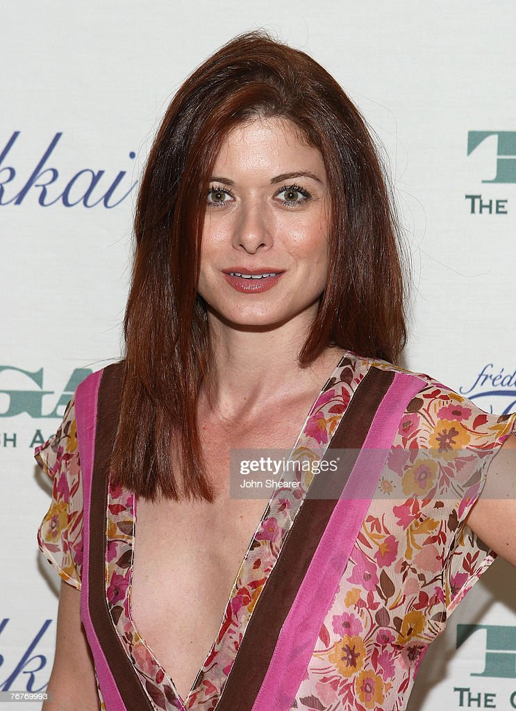 Debra Messing attends The Gersh Agency EMMY Party w/Special Guest Frederic Fekkai held at The Terrace at Sunset Tower Hotel on September 14, 2007 in LosAngeles, California.