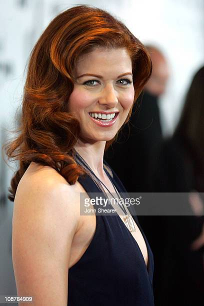 Debra Messing during 17th Annual GLAAD Media Awards Red Carpet at Kodak Theater in Los Angeles California United States