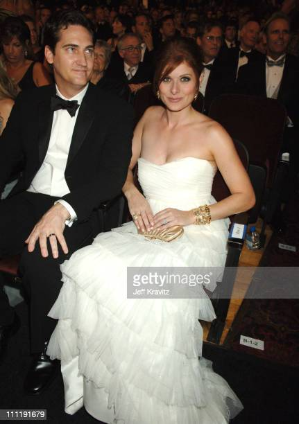 Debra Messing during 58th Annual Primetime Emmy Awards Audience at The Shrine Auditorium in Los Angeles California United States