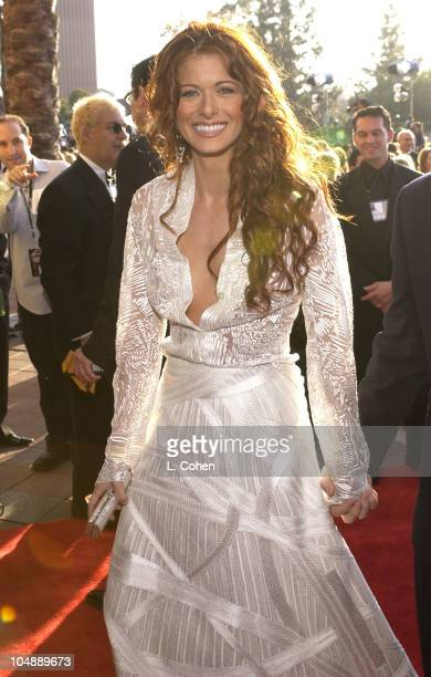 Debra Messing during 9th Annual Screen Actors Guild Awards Arrivals at Shrine Exposition Center in Los Angeles California United States