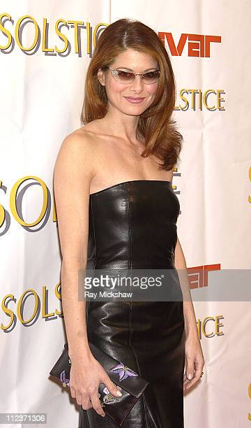 Debra Messing during Extravaganza and Launch Party for the New Beverly Hills Solstice Store at Beverly Center All Access at Ivar in Hollywood...