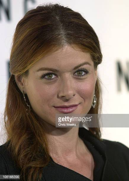 Debra Messing during Giorgio Armani Receives The First Rodeo Drive Walk Of Style Award Arrivals at Rodeo Drive Walk Of Style in Beverly Hills...