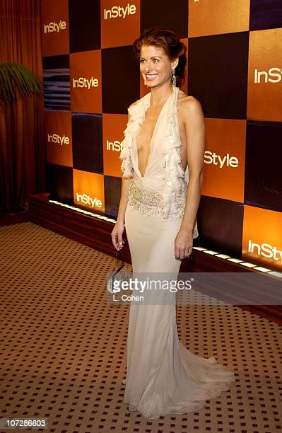 Debra Messing during InStyle Magazine Hosts Fourth Annual PostGolden Globes Party to Honor Hollywood's Elite Arrivals at The Beverly Hilton Hotel in...