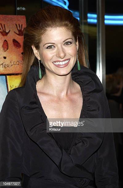Debra Messing during New York Premiere of 'Hollywood Ending' at Chelsea West Theatre in New York City New York United States
