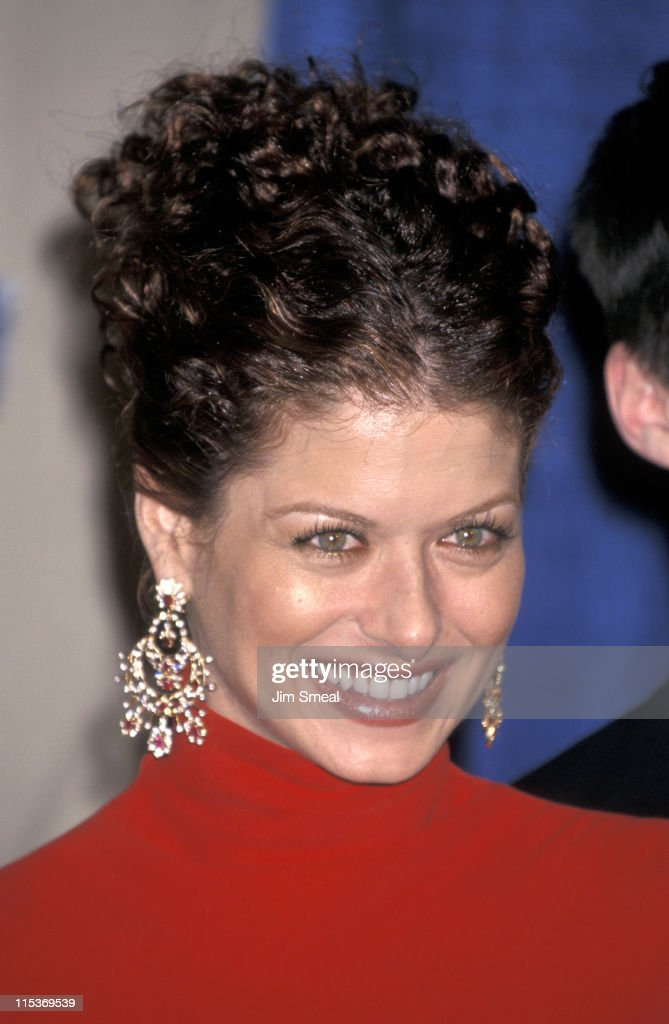 Debra Messing during The 7th Annual Screen Actors Guild Awards at Shrine Auditorium in Los Angeles, California, United States.