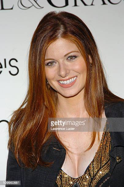 Debra Messing during The Cast of Will Grace Celebrates the Launch of their New CD Will Grace Let The Music Out at Bloomingdales September 15 2004 at...