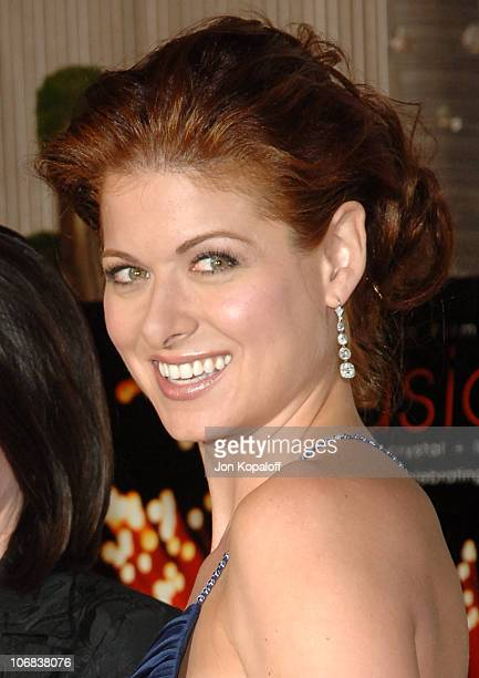 Debra Messing during Women in Film Presents Fusion The 2005 Crystal Lucy Awards An Evening Celebrating Partnership at The Beverly Hilton in Los...