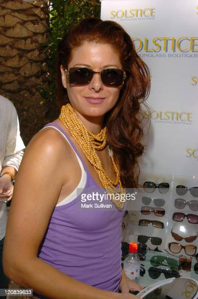 Debra Messing in Dior Homme 0056S at Solstice at HBO Luxury Lounge