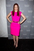 Debra Messing is seen around the Lincoln Center during Fall 2012 MercedesBenz Fashion Week on February 15 2012 in New York City