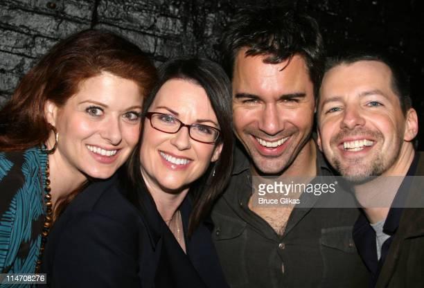 Debra Messing Megan Mullally Eric McCormack and Sean Hayes