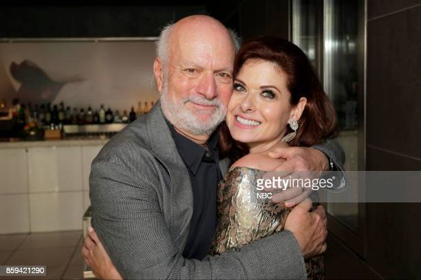 WILL GRACE 'Debra Messing on the Hollywood Walk of Fame' Pictured James Burrows Executive Producer / Director 'Will Grace' Debra Messing at the...