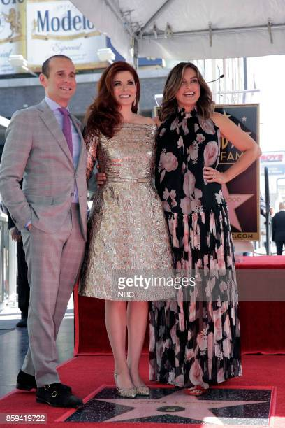 WILL GRACE 'Debra Messing on the Hollywood Walk of Fame' Pictured Max Mutchnick Executive Producer 'Will Grace' Debra Messing Mariska Hargitay at the...