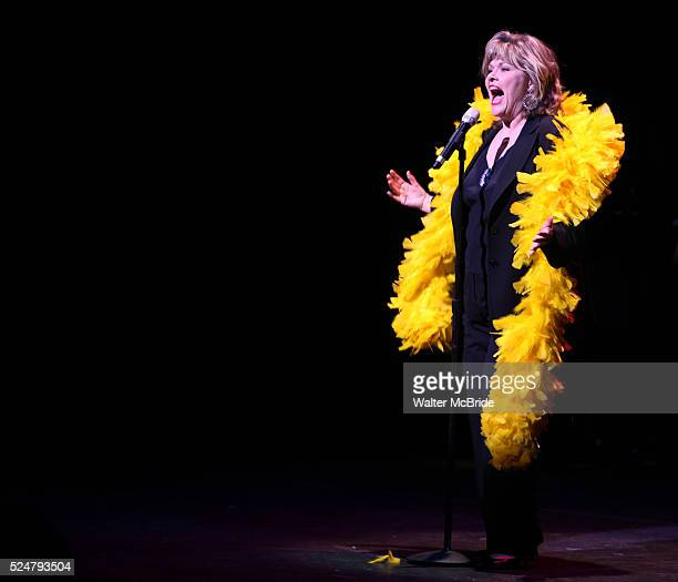 Debra Monk performing in STRO The Vineyard Theatre Annual Spring Gala honors Susan Stroman at the Hudson Theatre in New York City