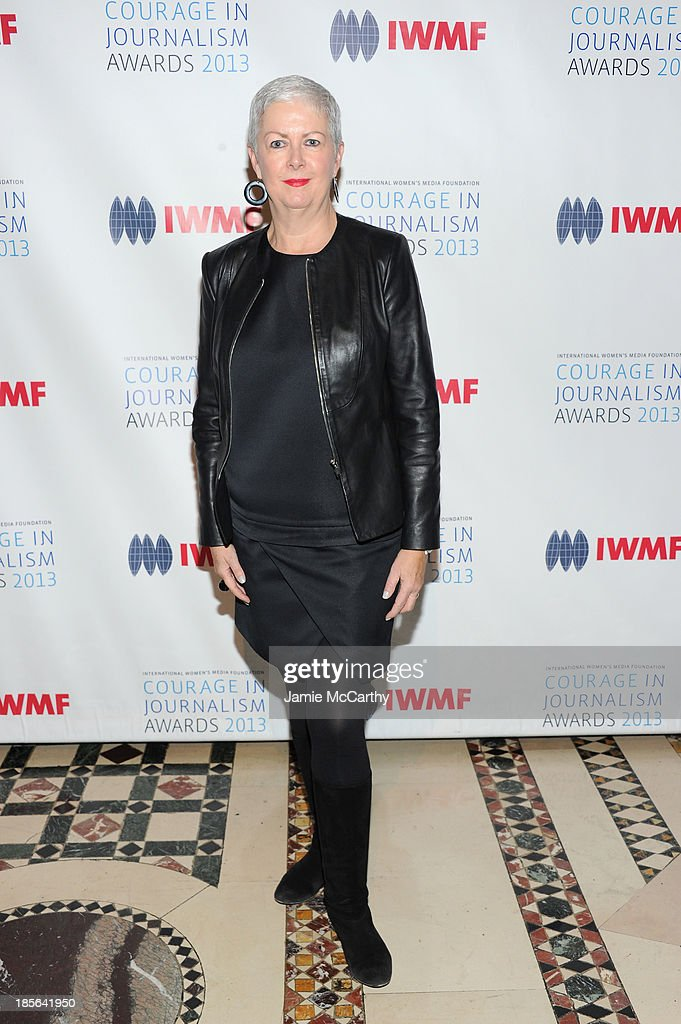 Debra Shriver attends the International Women's Media Foundation's 2013 Courage In Journalism And Lifetime Achievement Awards at Cipriani 42nd Street on October 23, 2013 in New York City.