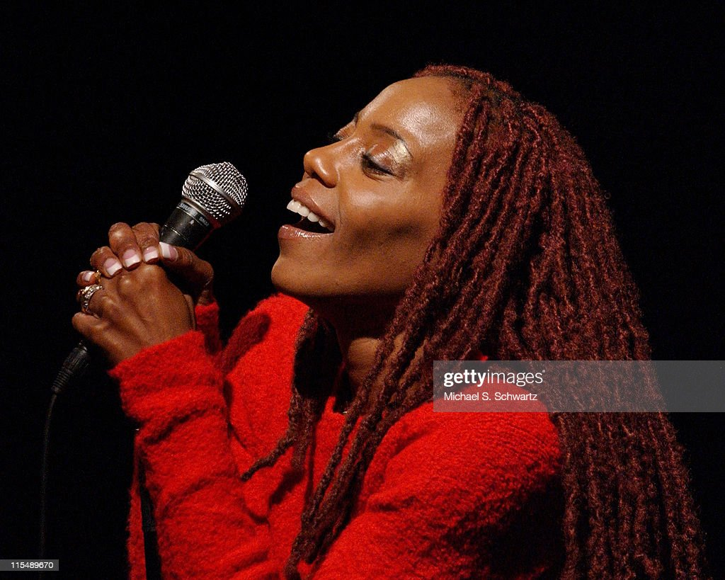 Debra Wilson Skelton performs at the Hollywood Improv on October 4 2007 in Hollywood California