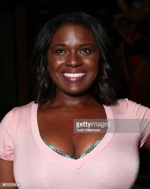 Debra Winans attends a Love Music Funk Jam hosted by Kat Graham at The Peppermint Club on June 25 2017 in Los Angeles California