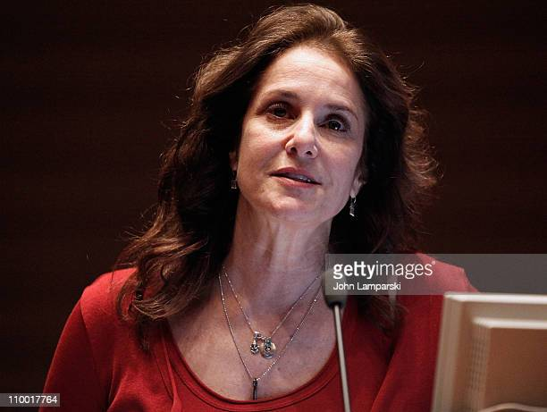 Debra Winger attends the 2011 Mount Sinai Global Health Conference screening of 'Gasland' at Mount Sinai Medical Center on March 11 2011 in New York...
