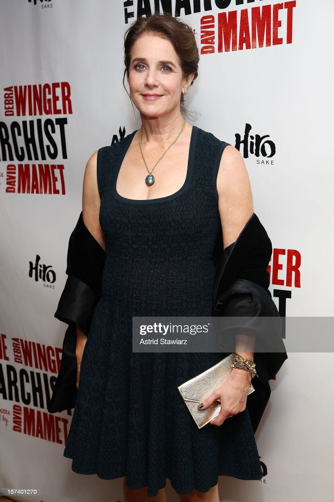 Debra Winger attends 'The Anarchist' Broadway Opening Night After Party at The Red Eye Grill on December 2, 2012 in New York City.
