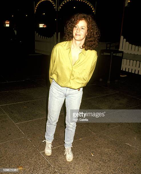 Debra Winger during Big Apple Circus October 24 1991 at Lincoln Center in New York New York United States