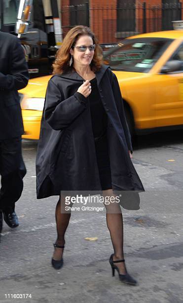 Debra Winger during Body Soul New York Celebrates NFAA 2006 Arts Winners at Baryshnikov Arts Center in New York City New York United States