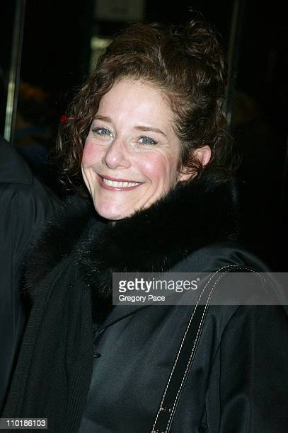 Debra Winger during 'The Dreamers' New York Premiere Inside Arrivals at The Beekman Theatre in New York City New York United States