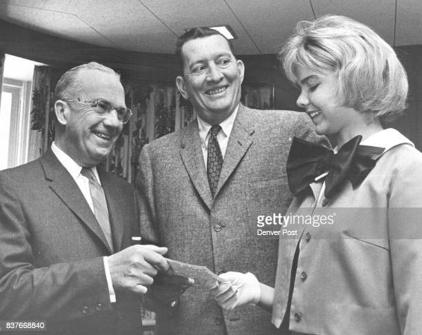 Debs Add to Symphony Fund Total W Braxton Ross left campaign chairman for the Denver Symphony Society's 1963 fund raising drive and Allan Phipps...