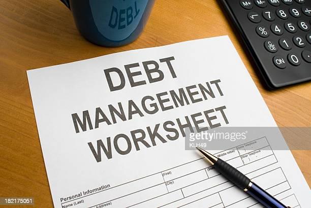 Debt Management Worksheet
