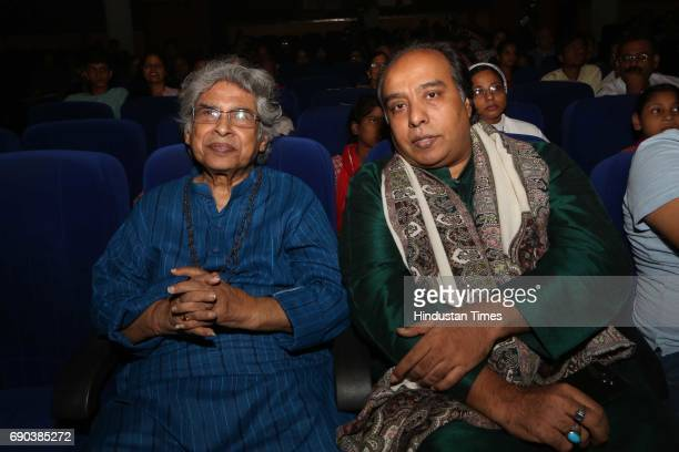 Debu Chaudhuri and Wasifuddin Dagar during the UMAK festival at Indian Council for Cultural Relations on May 27 2017 in New Delhi India The dance...
