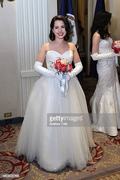 Debutante Sarah Mathison of Virginia attends the 60th International Debutante Ball at The Waldorf=Astoria on December 29 2014 in New York City