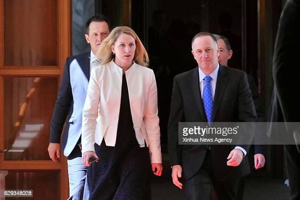 WELLINGTON Dec 12 2016 New Zealand's former prime minister John Key walks in Wellington on Dec 12 2016 New Zealand's ruling centerright National...