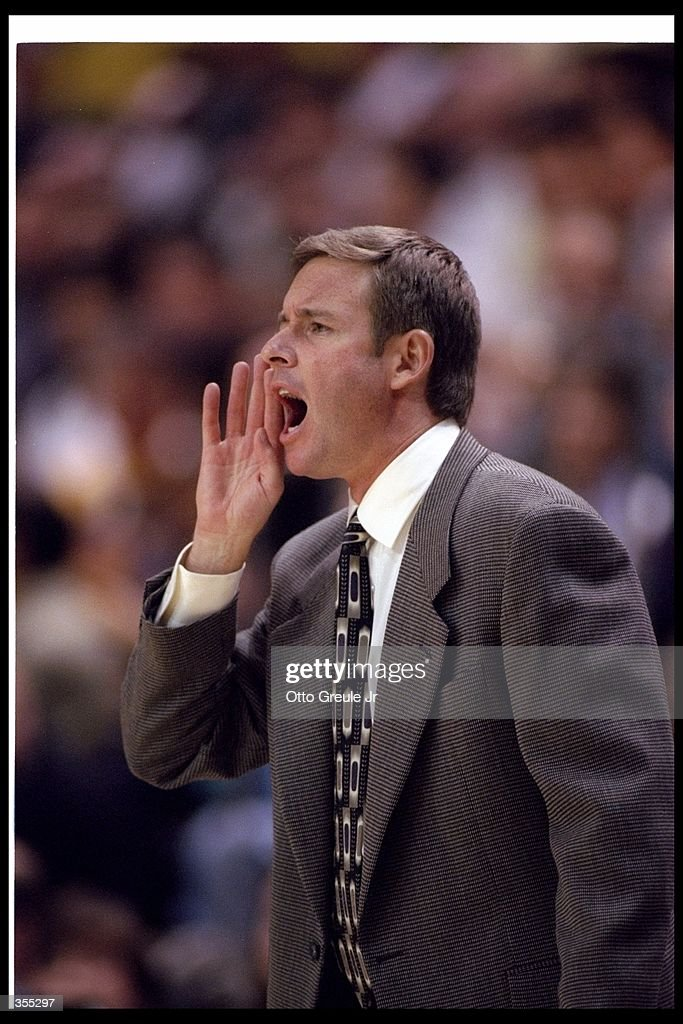 Head coach Ben Braun of the University of California during the Cal Golden Bears 8988 win over the University of Illinois at Harmon Gym in Berkeley...