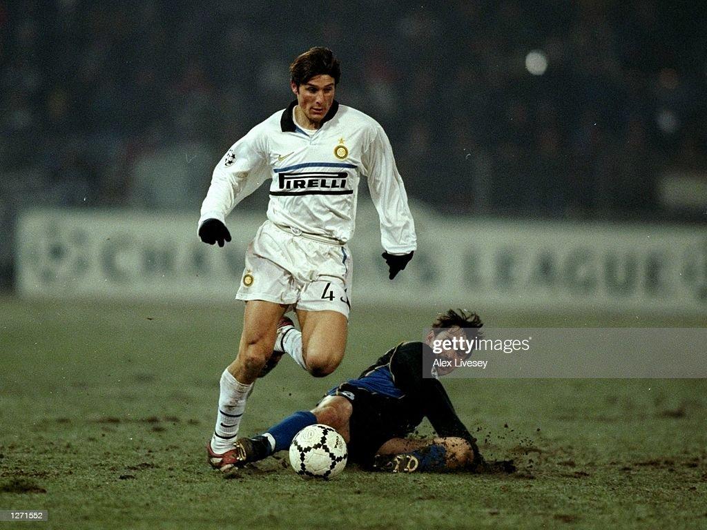 Sturm Graz v Inter Javier Zanetti