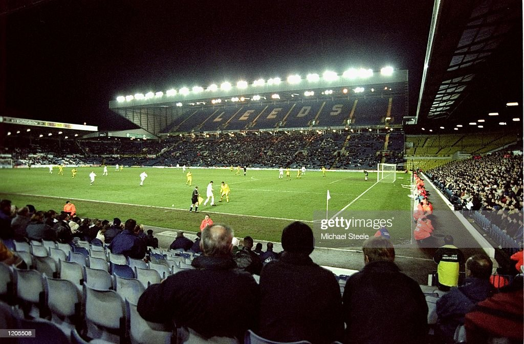 A general view of Elland Road during the FA Cup Third Round match between Leeds United and Port Vale in Leeds England Leeds won the game 20 Mandatory...
