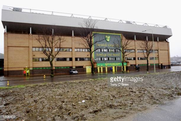 Carrow Road the home of Norwich City before the FA Cup Third Round match against Coventry City Mandatory Credit Tony O''Brien /Allsport