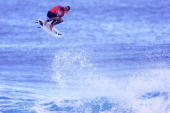 Defending Mountain Dew Pipe Masters champion and sixtimes Association of Surfing Professionals world champion Kelly Slater of USA was eliminated from...