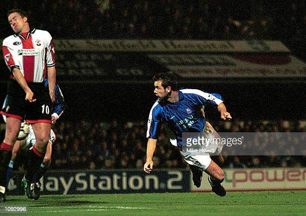 Marcus Stewart of Ipswich in action during the FA Carling Premiership match between Ipswich Town v Southampton played at Portman Road Ipswich...