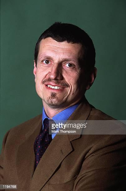 Portrait of Guenther Steiner Managing Director of Jaguar Racing at Jaguar Racing Headquarters in Milton Keynes England Mandatory Credit Mark Thompson...