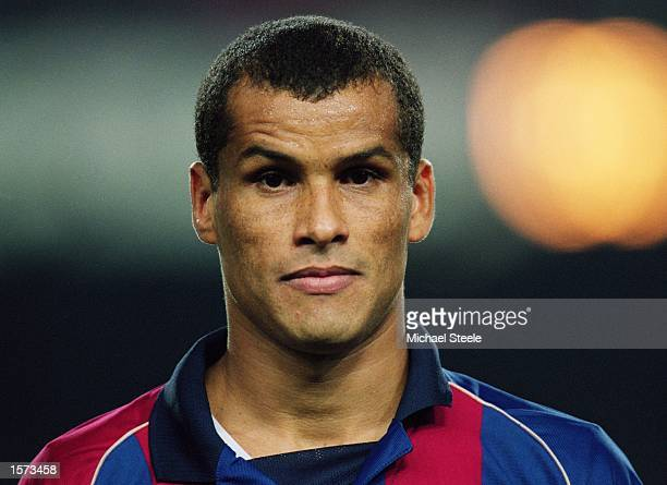 Portrait of Rivaldo of Barcelona during the UEFA Champions League Second Phase Group B match between Barcelona and Galatasaray at the Nou Camp in...