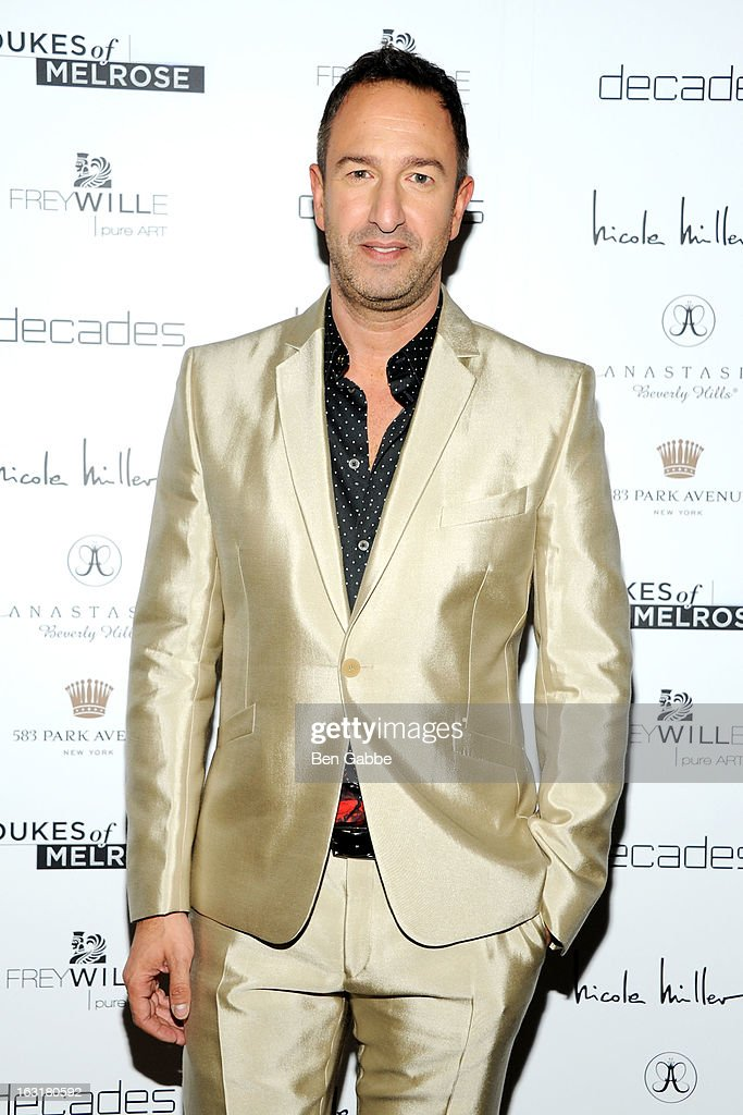Decades co-owner Christos Garkinos attends the 'Dukes Of Melrose' Premiere at 583 Park Avenue on March 5, 2013 in New York City.