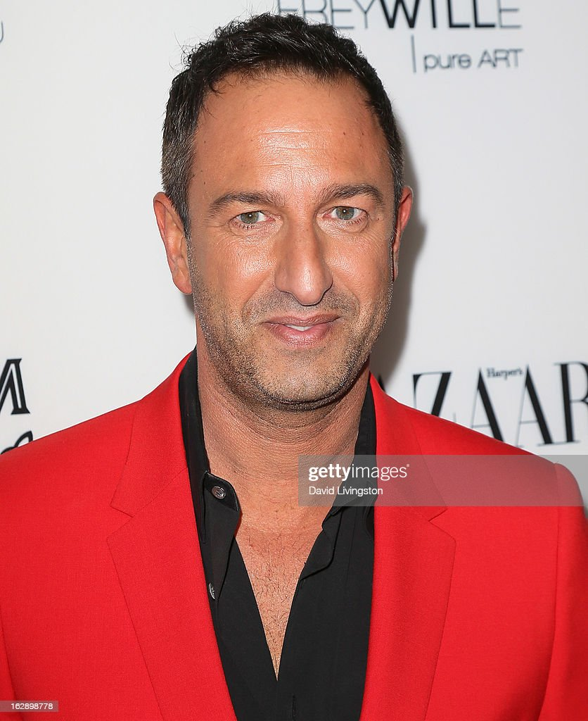Decades co-owner Christos Garkinos attends the Harper's BAZAAR celebration of Cameron Silver and Christos Garkinos of Decades new Bravo series 'Dukes of Melrose' at The Terrace at Sunset Tower on February 28, 2013 in West Hollywood, California.