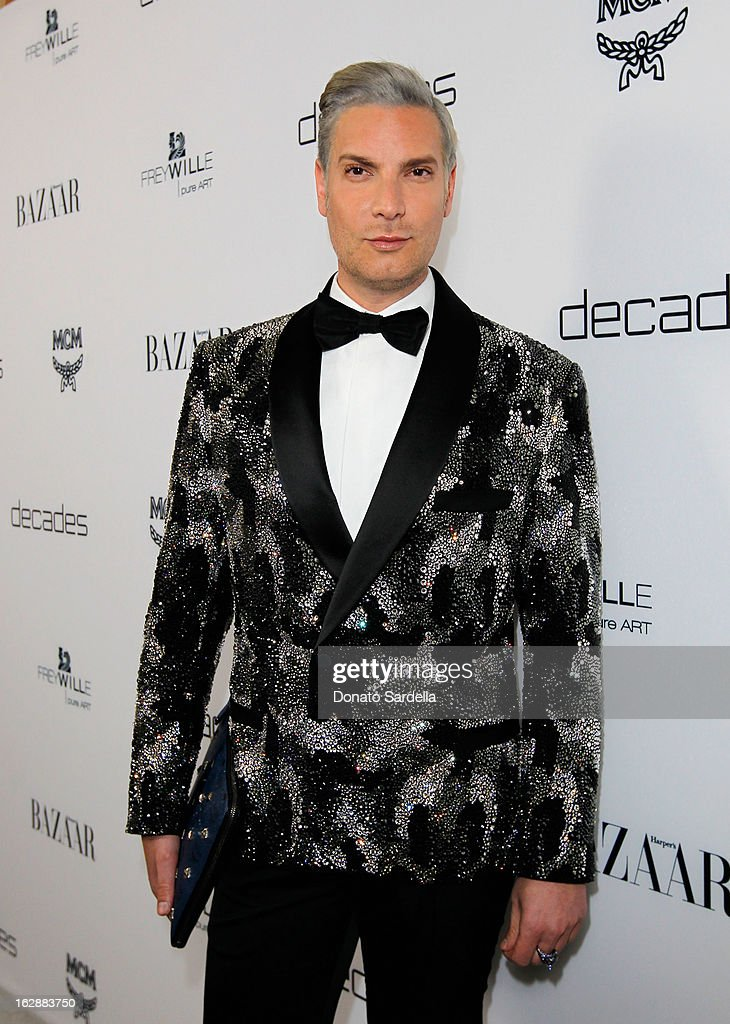 Decades Founder Cameron Silver attends the Dukes Of Melrose launch hosted by Decades, Harper's BAZAAR, and MCM on February 28, 2013 in Los Angeles, California.