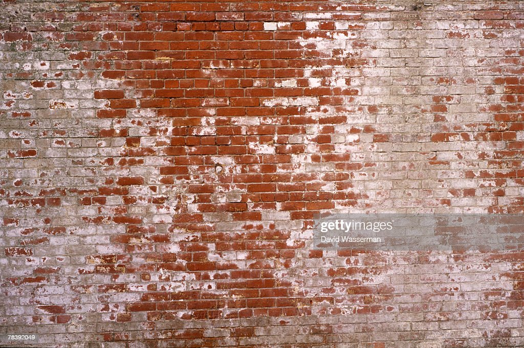 Decaying brick wall : Stock Photo