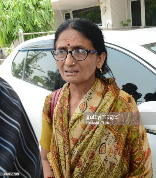 Deceased IAS officer Anurag Tewari mother Sushila Tewari and sisterinlaw Subhra Tewari met the Chief Minister Yogi Adityanath at the secretariat...
