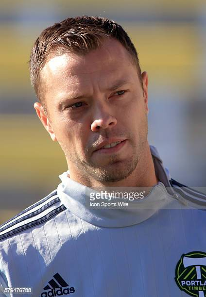 Portland Timbers defender/midfielder Jack Jewsbury during a practice session before the MLS Cup final at Mapfre Stadium in Columbus Ohio