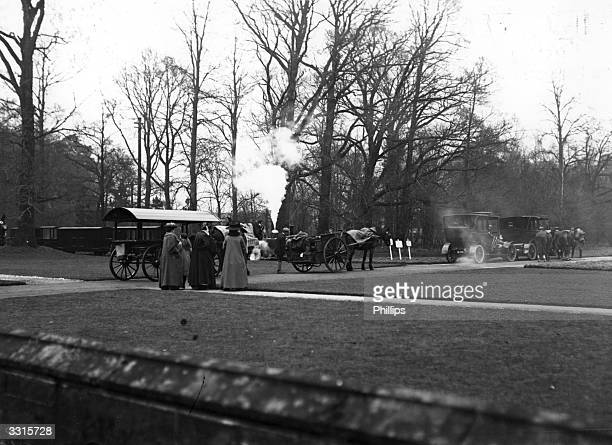 The Duke of Westminster's private railway in the grounds of Eaton Hall Cheshire
