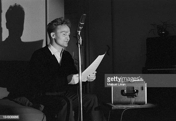 December 1956 John Albert has left 'The Companions of the song' to try a solo career Jean ALBERT repeated
